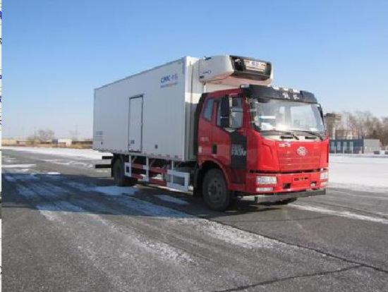 解放龙V  7.5米冷藏车