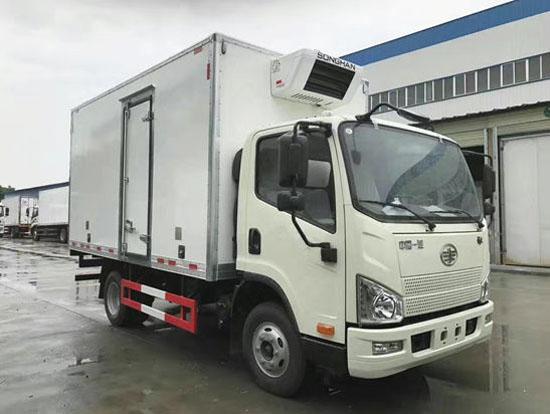 解放J6F 4.2米冷藏车