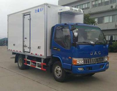 江淮骏铃V6 4米冷藏车