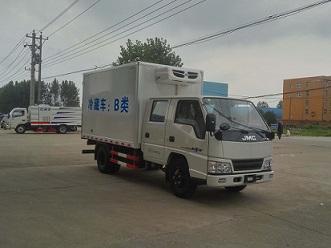 江铃双排3.2米冷藏车