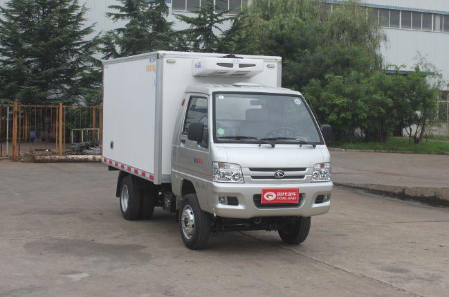福田驭菱后双轮2.9米冷藏车
