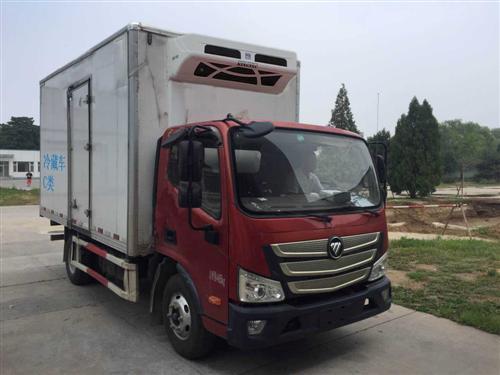 福田欧马可排半3.7米冷藏车