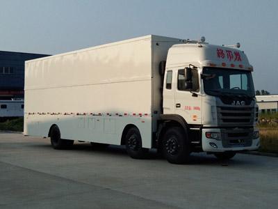 程力威牌CLW5200XWTH5型舞台车